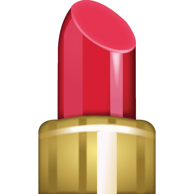 Emoji clipart lipstick. Download all icons island