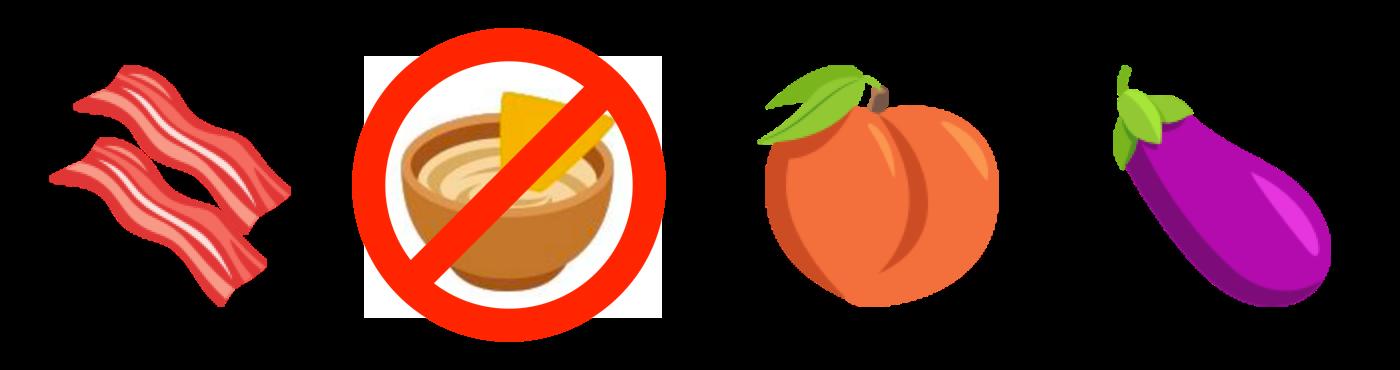 Peach clipart emoji. A tasty look at