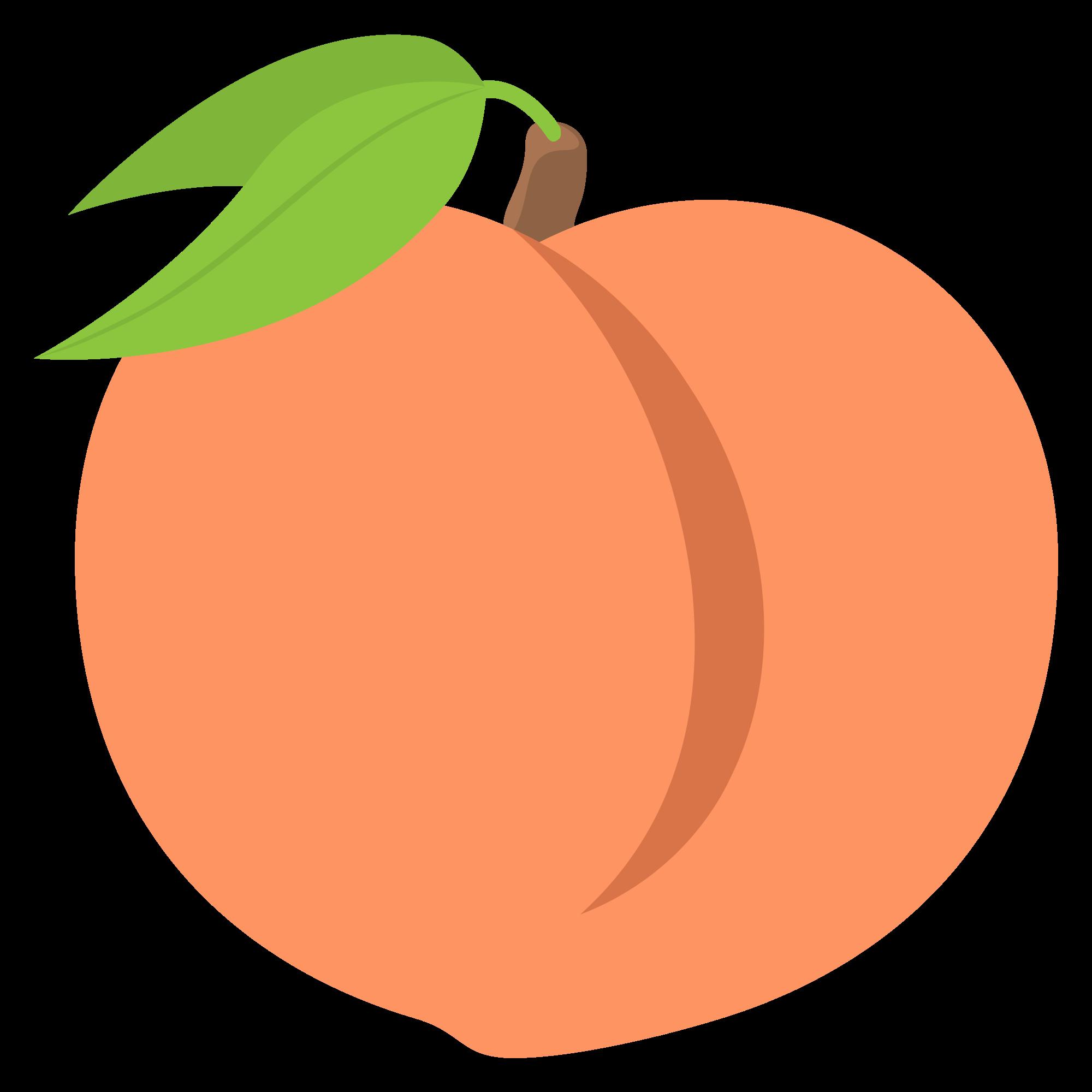 File emojione f svg. Peach clipart emoji