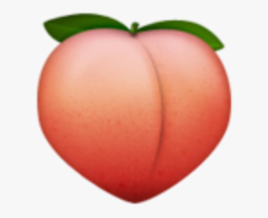 Download peaches transparent . Peach clipart emoji