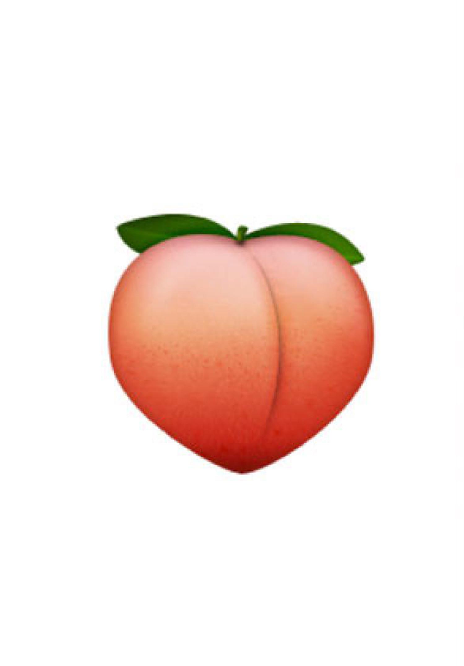 Peach clipart emoji. Apple have changed their
