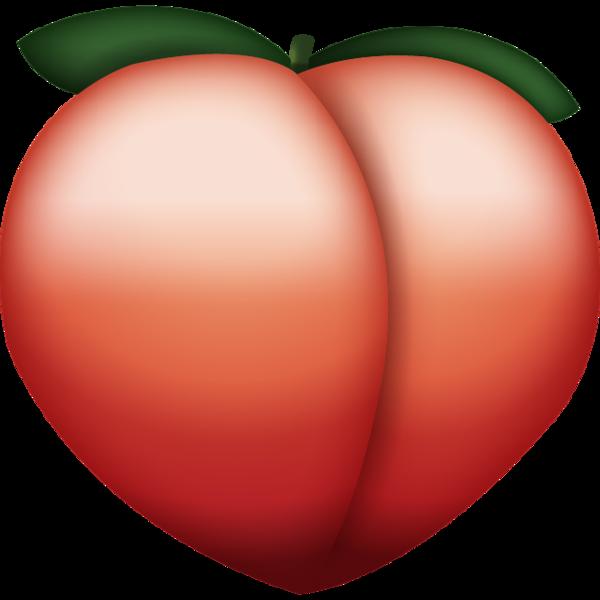 Download icon island . Peach clipart emoji