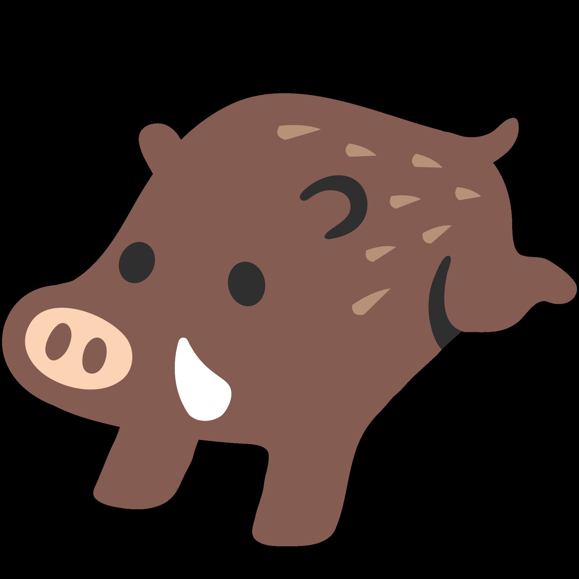 File u f svg. Emoji clipart pig