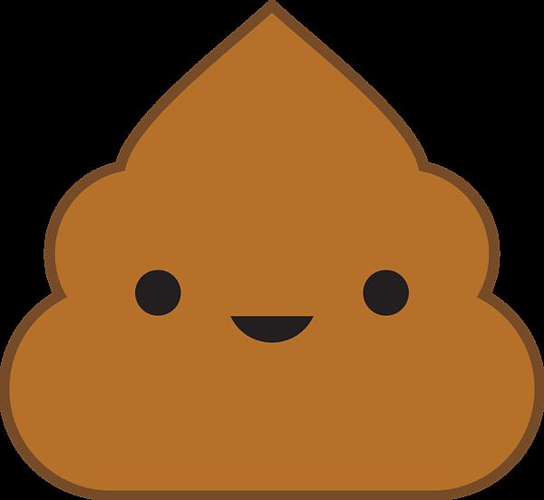 Groundhog clipart kawaii. Poop greeting card for