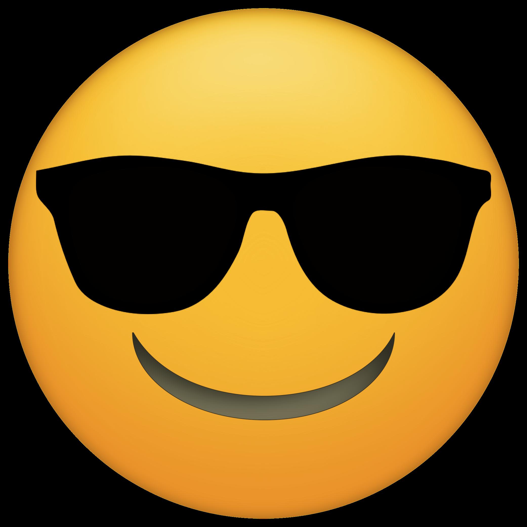 Emoji lessons tes teach. Glasses clipart printable