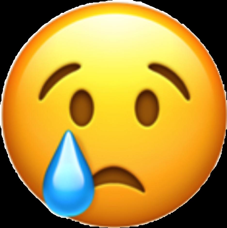 Emoji clipart sadness. World day whatsapp emoticon
