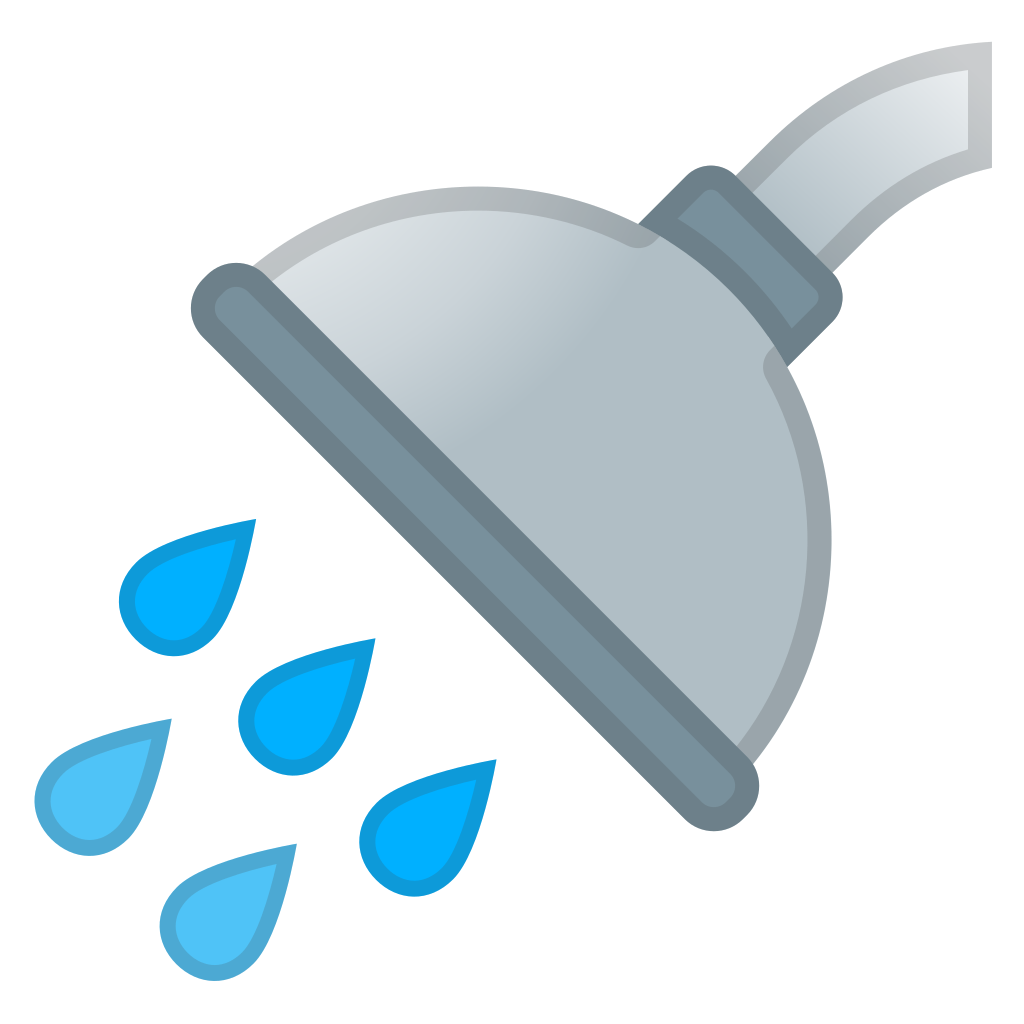 Icon noto objects iconset. Emoji clipart shower