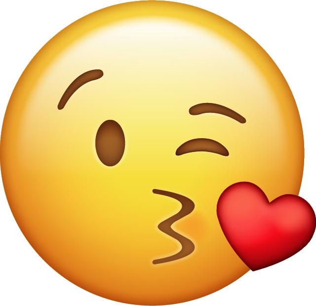 Emoji clipart student. Kiss icon png pixels