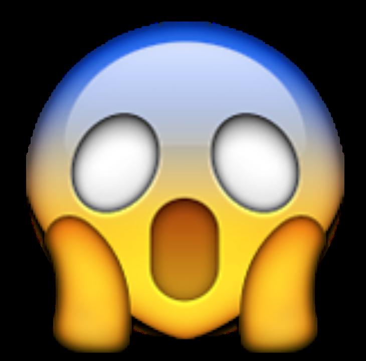 I m a something. Emoji clipart suprised