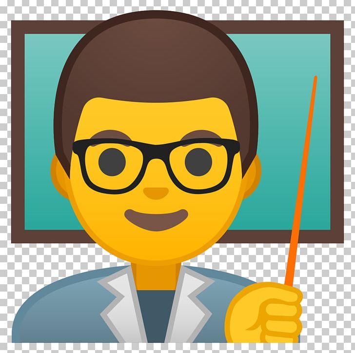 Emoji clipart teacher. Smiley professor school png