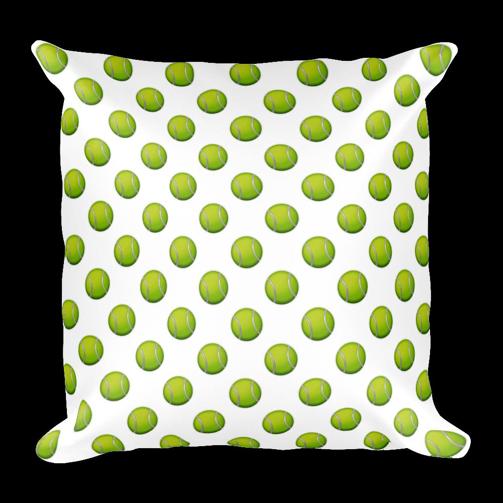 Pillow ball just balljust. Emoji clipart tennis