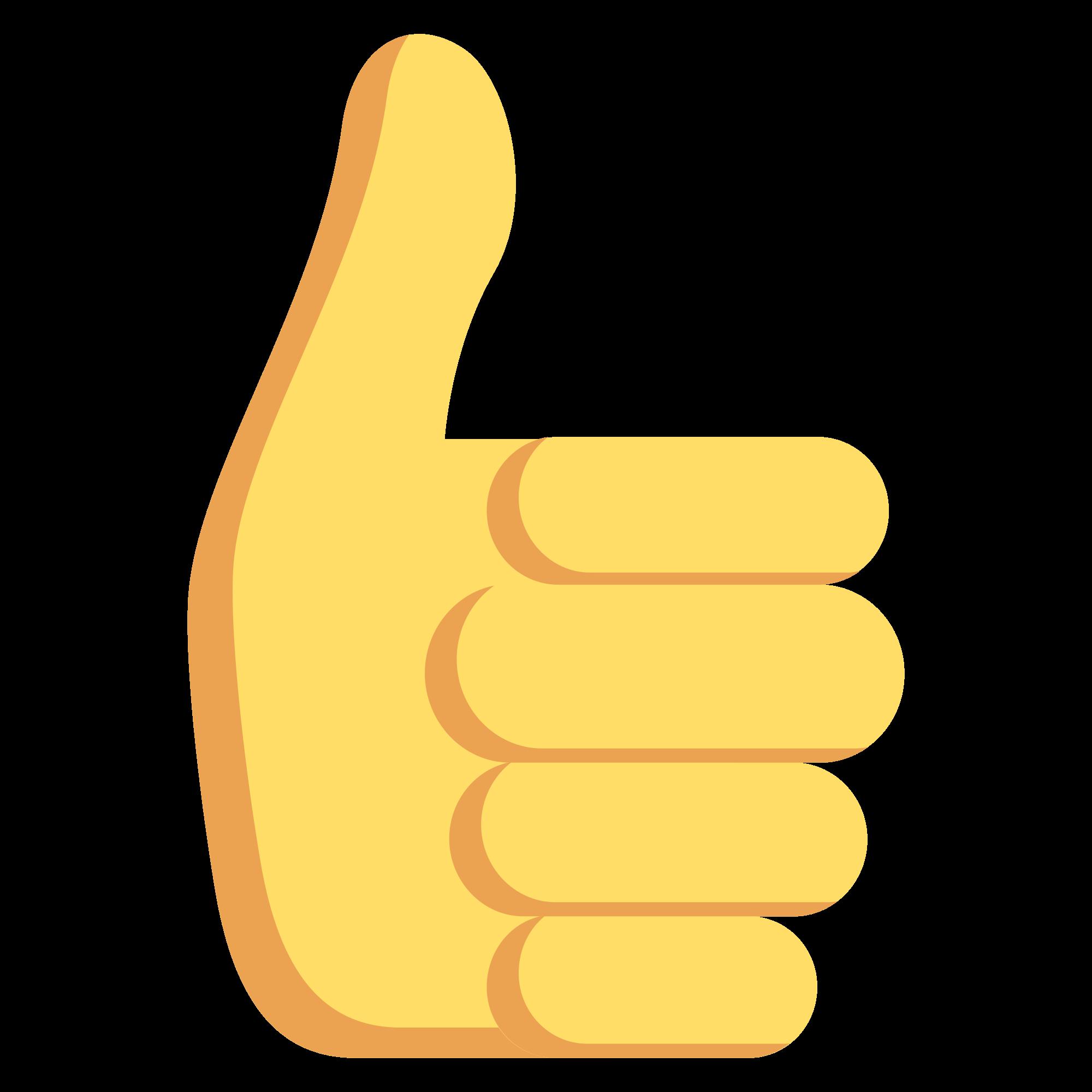 Signal smiley emoticon fingers. Thumb clipart emoji