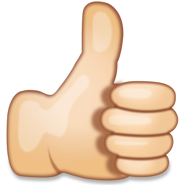 Thumb clipart thumb finger. Download thumbs up hand