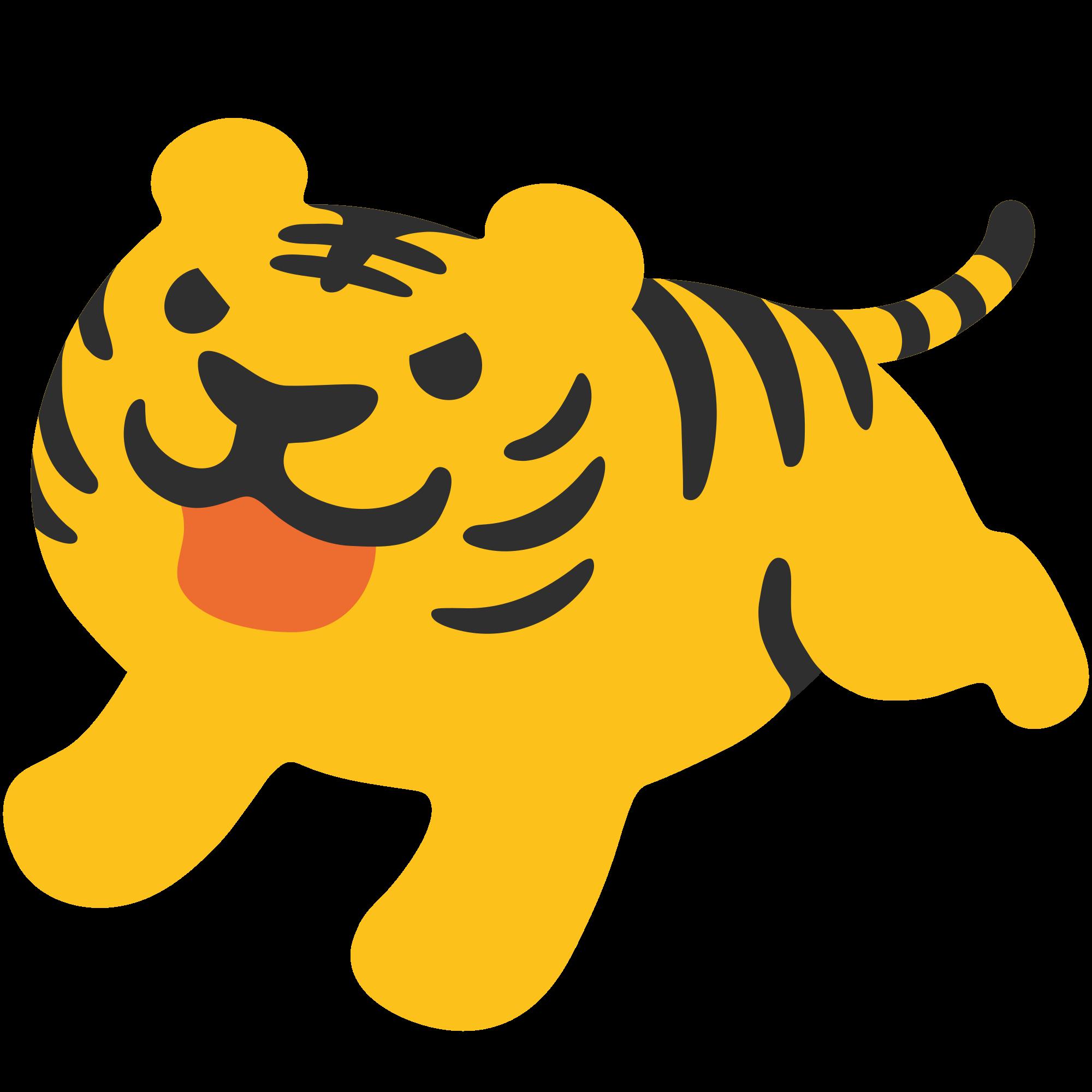 File u f svg. Emoji clipart tiger