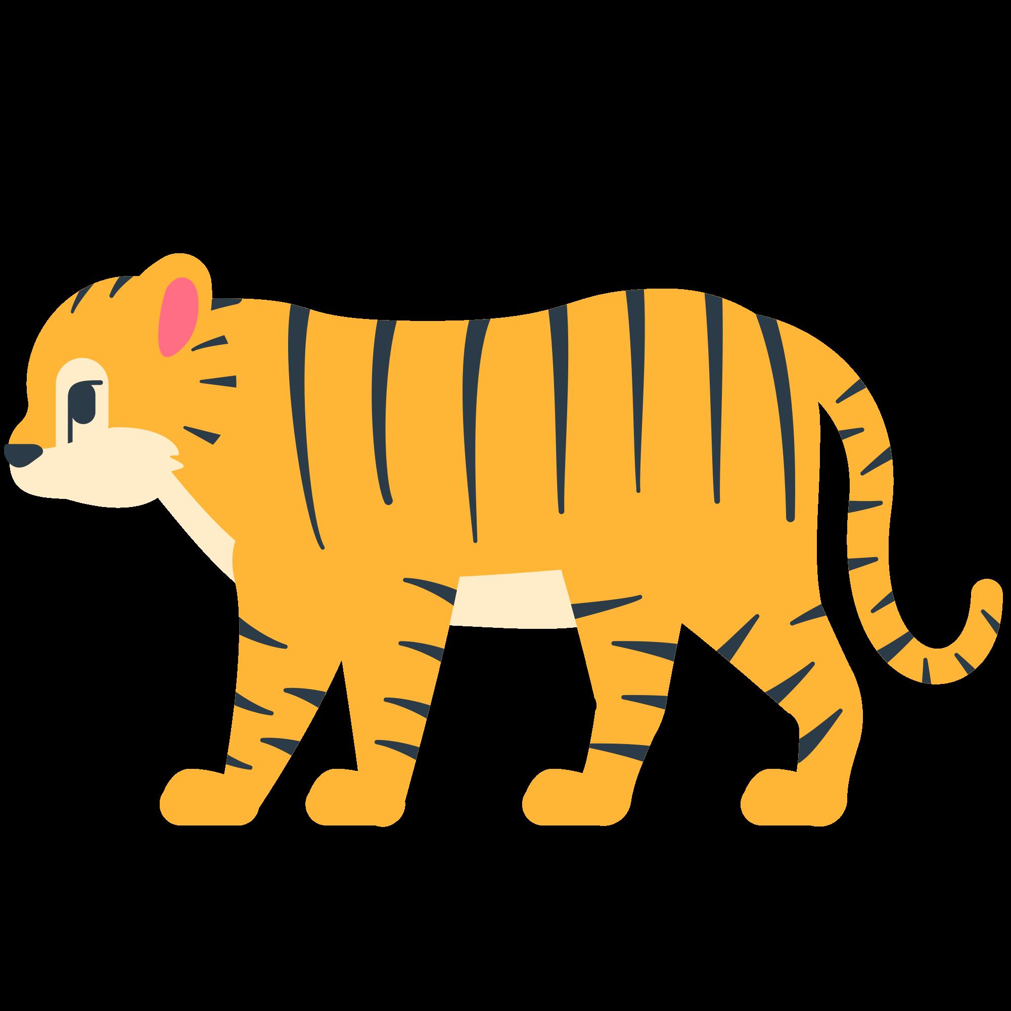 Emoji clipart tiger. File fxemoji u f