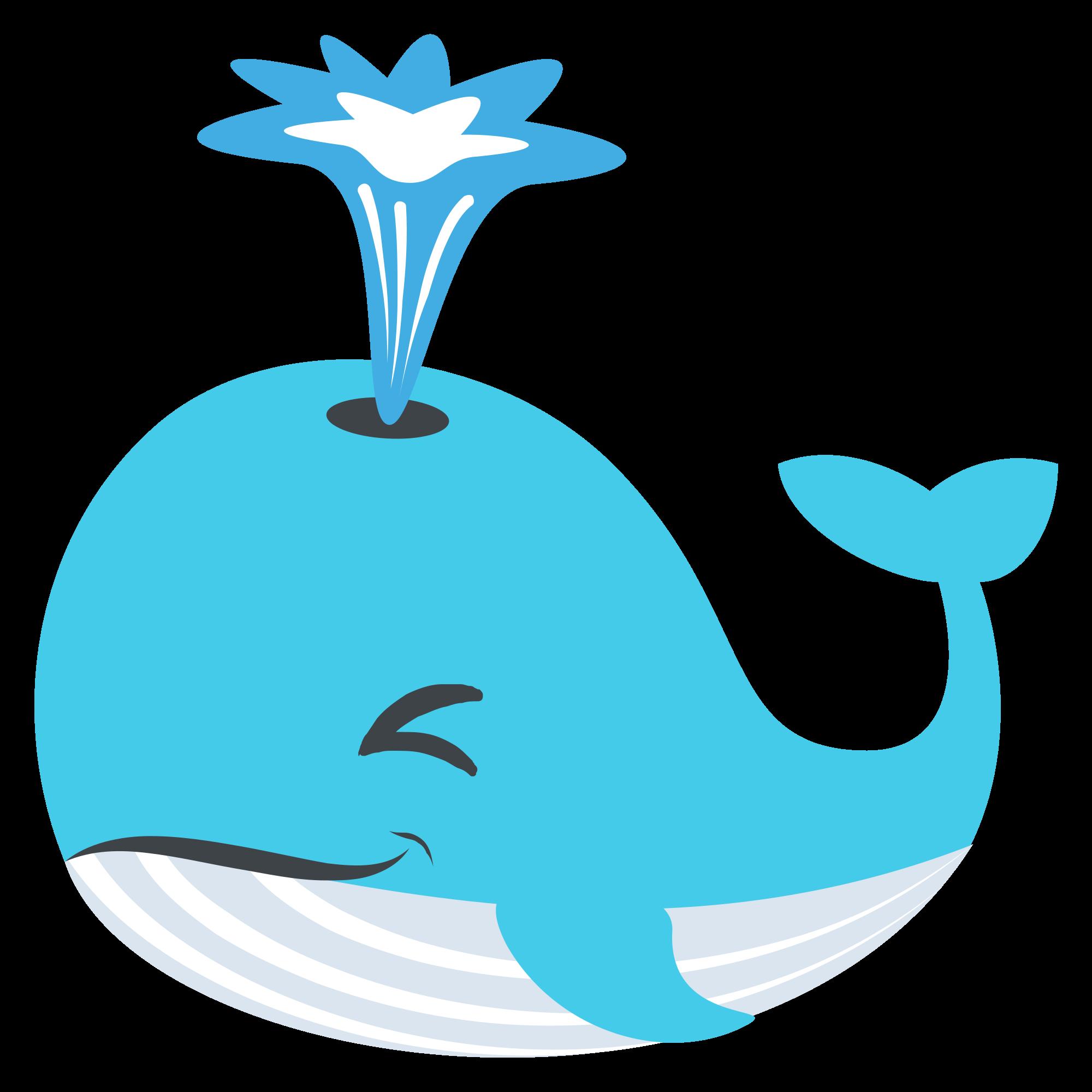 File emojione f svg. Emoji clipart whale