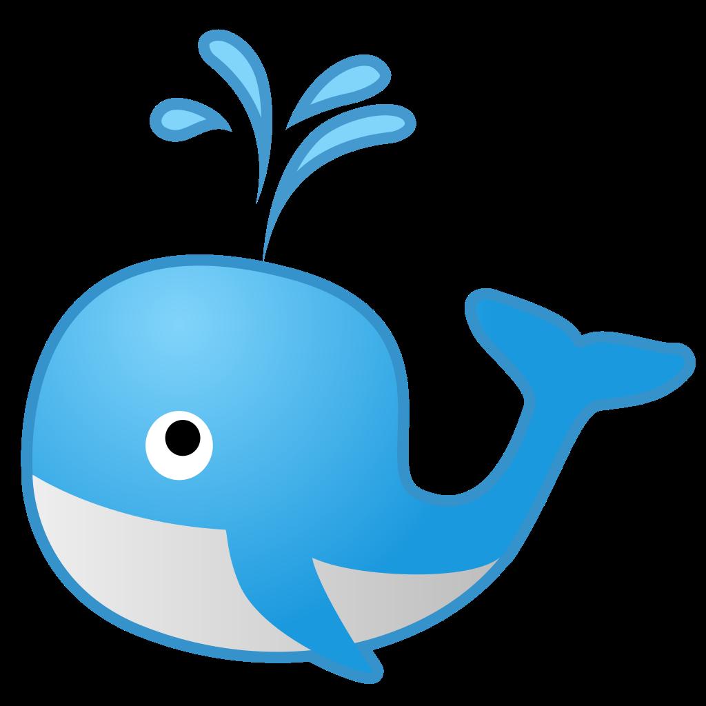 Emoji clipart whale. Spouting icon noto animals