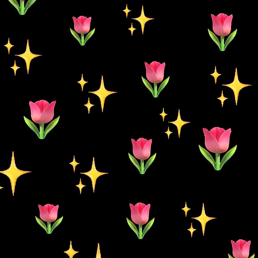 Flowers sparkle shine emojis. Emoji flower png