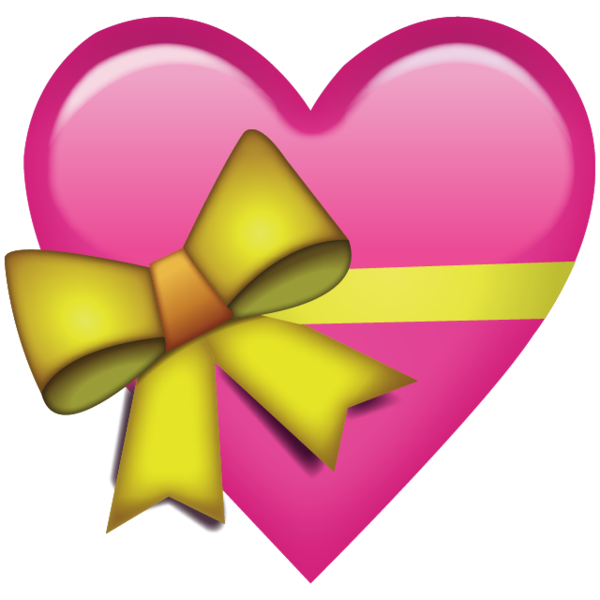 Emoji hearts png. Download pink heart with