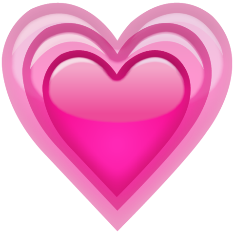 Emoji hearts png. Download growing pink heart