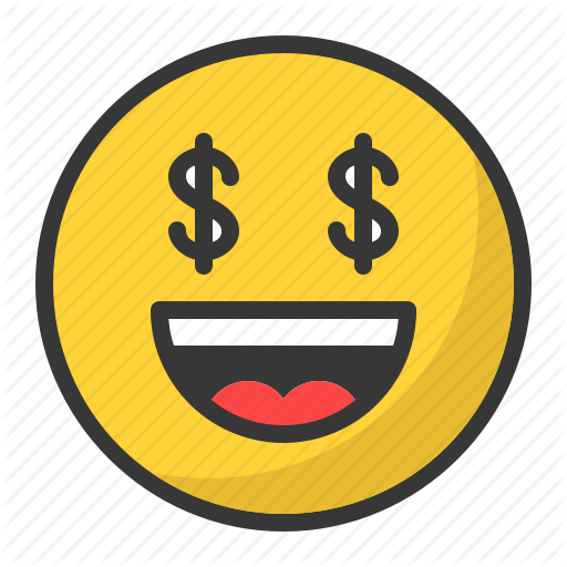 Emoji money png. Emojis colored outlined pixel