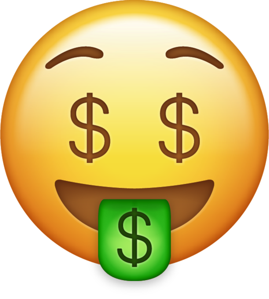 Emoji money png. Download iphone icon in