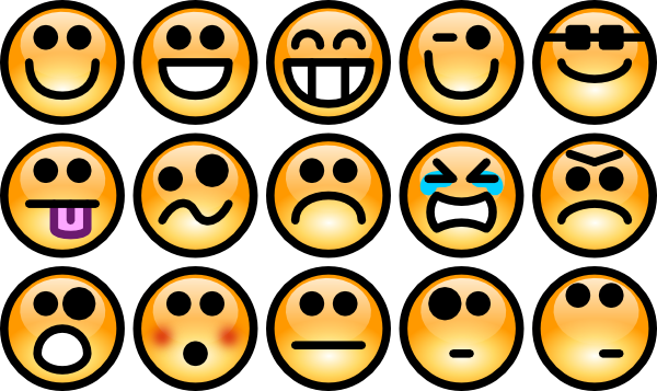 . Emotions clipart
