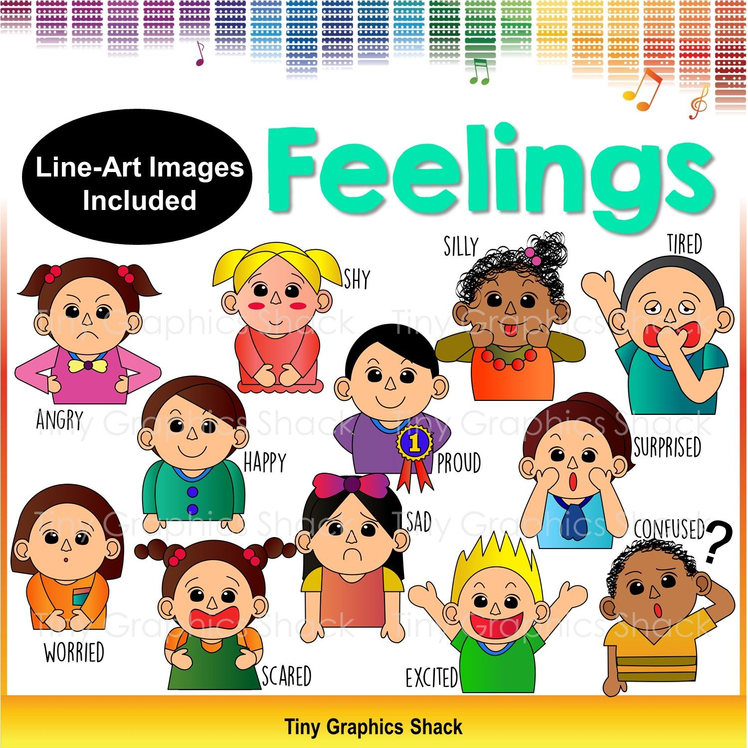Feelings and emotions clip. Proud clipart happy