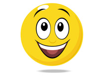 Smiley clipart. Free emotions clip art