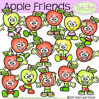 Emotions clipart anxious. Apple kids friends clip