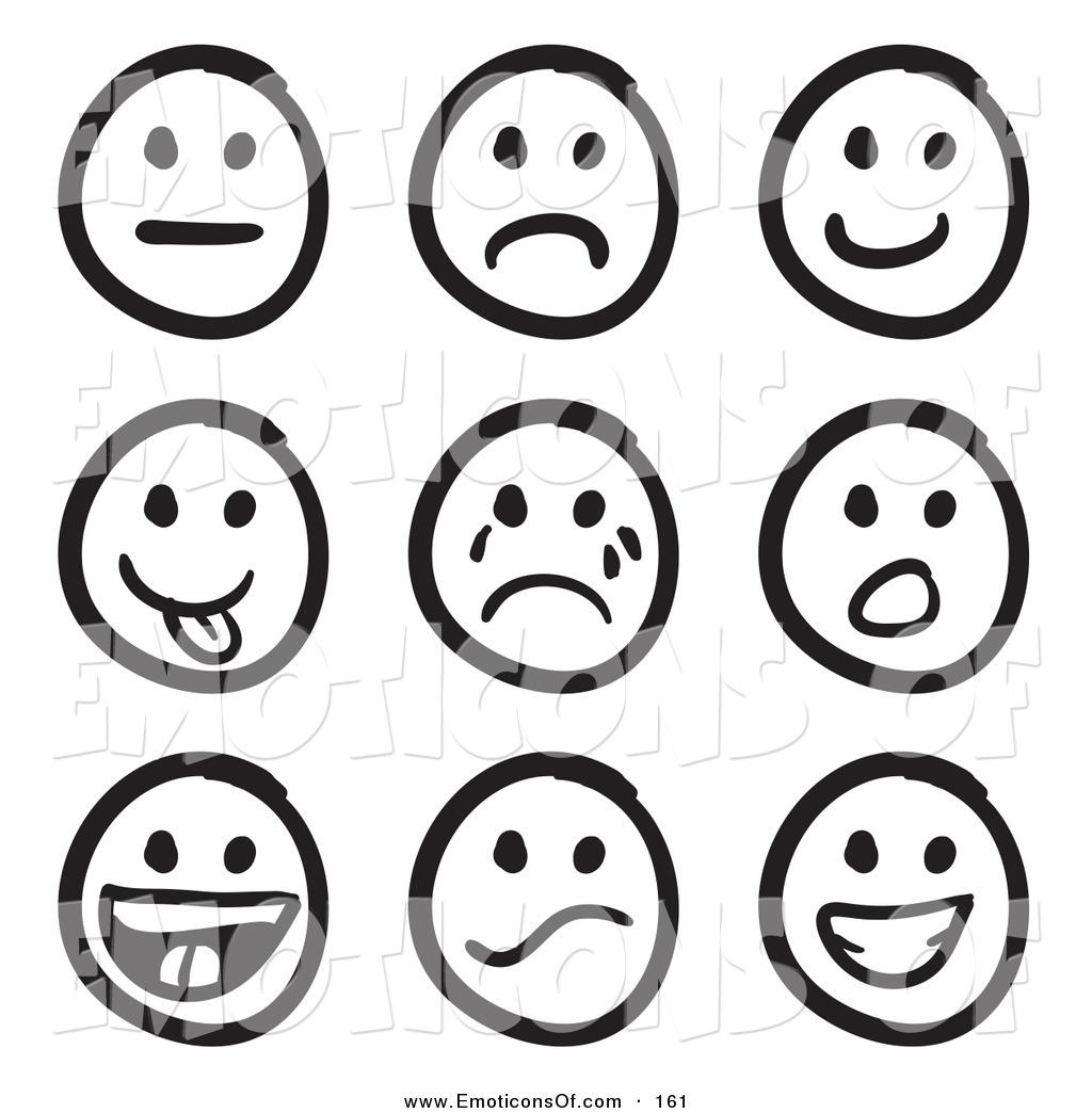 Emotions free download best. Feelings clipart black and white