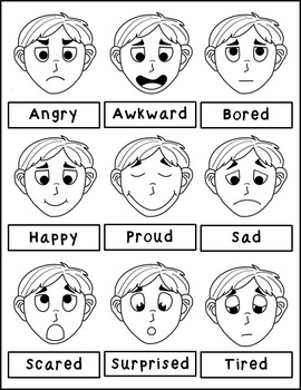 . Emotions clipart bored