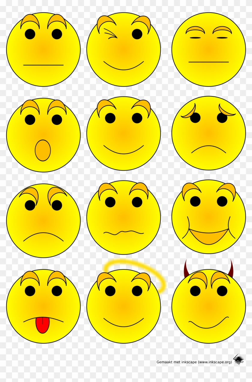 Emoticons png transparent . Emotions clipart emoticon