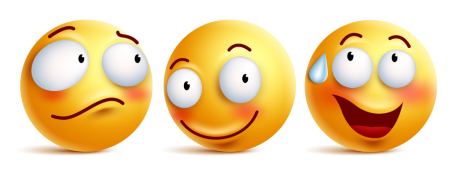Emotions clipart emoticon. Smiley face background