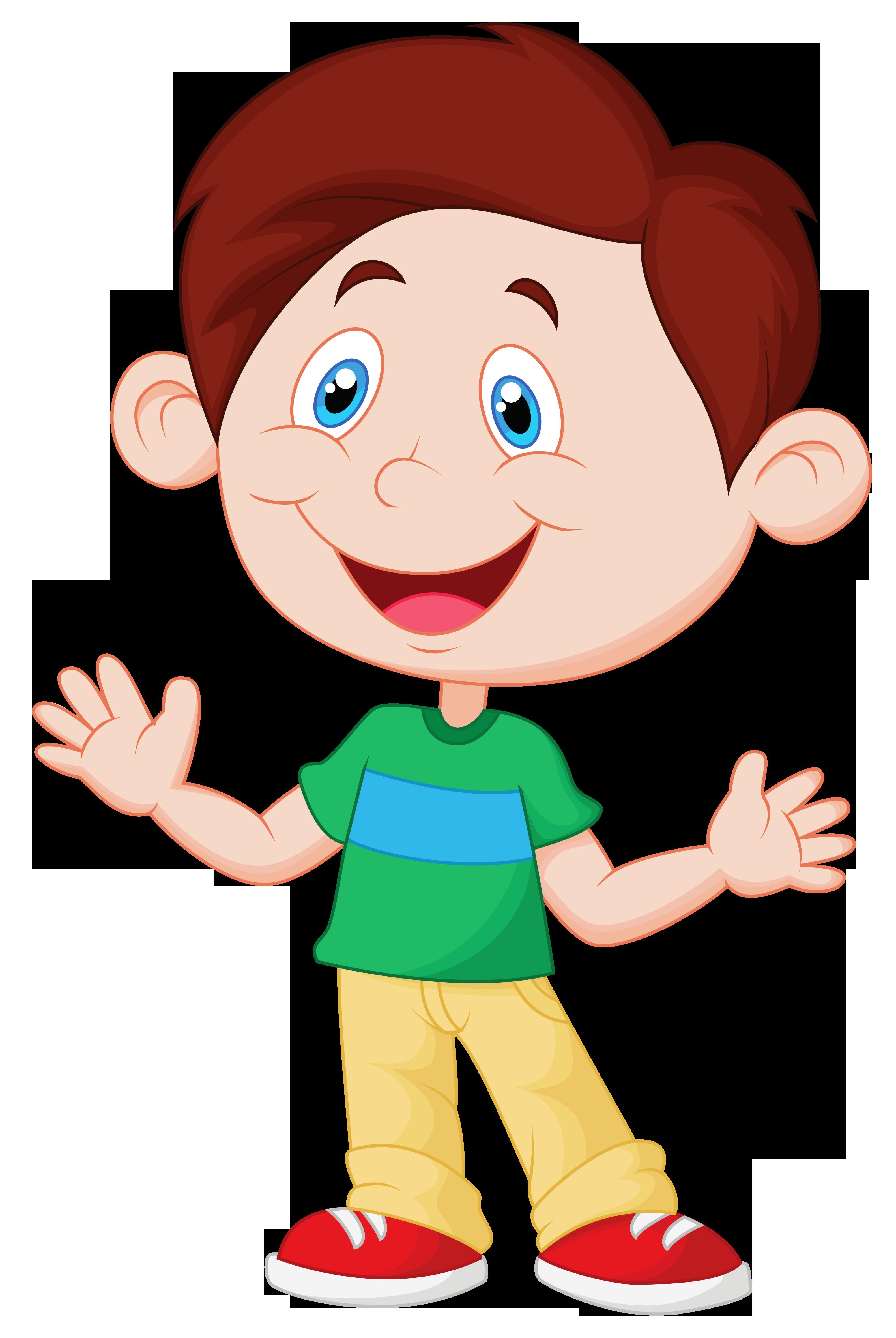 Emotions clipart emotional person. Cartoon child clip art