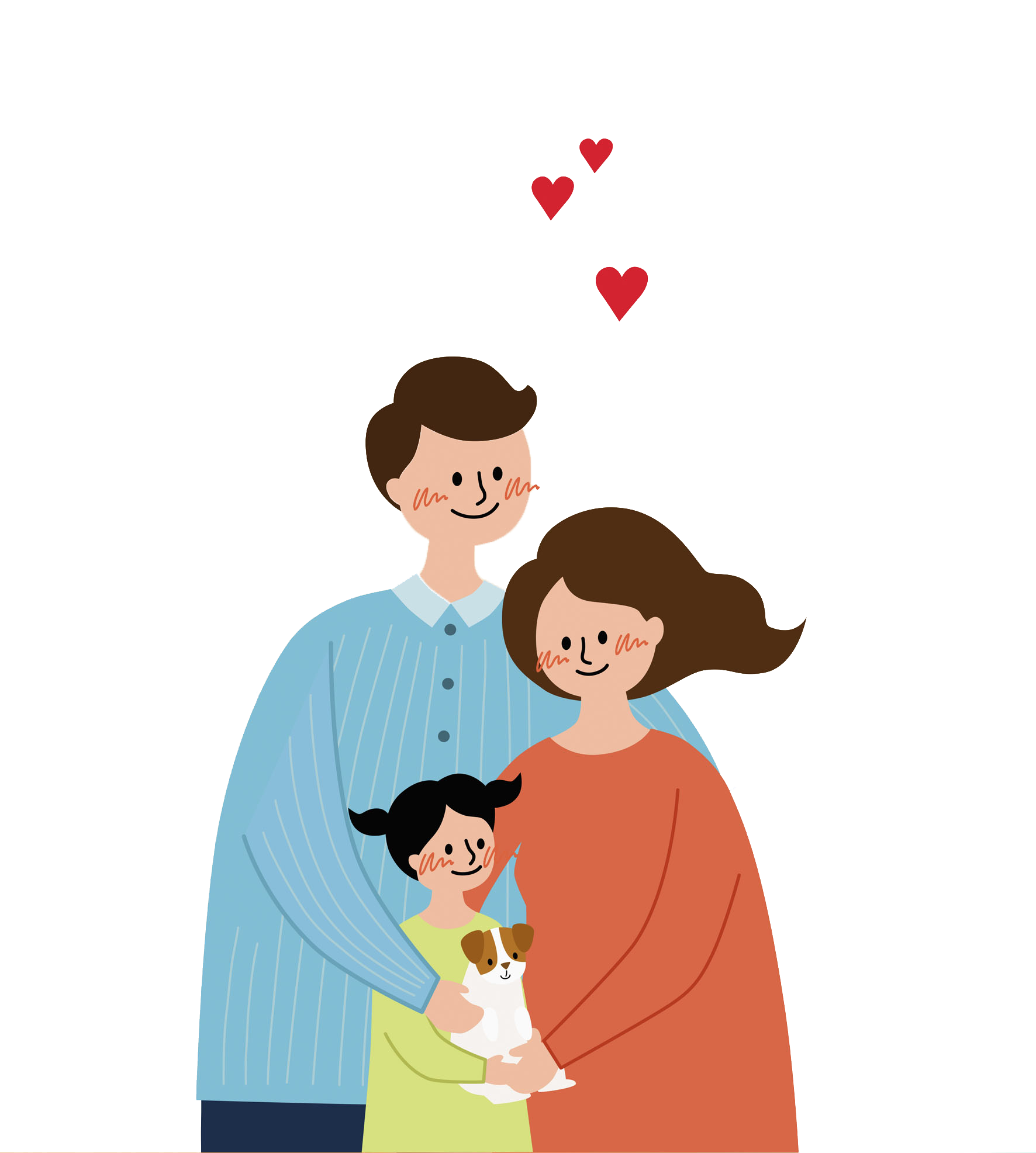 Emotions clipart emotional person. Family clip art happy