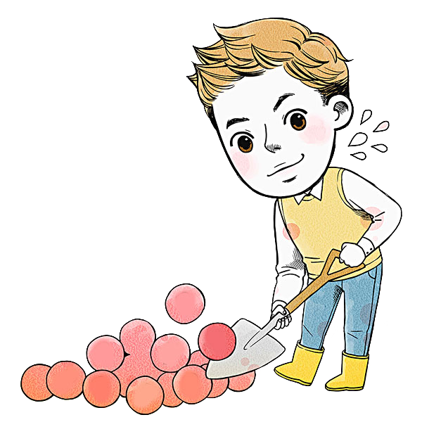 Working clipart laborious. Clip art industrious man