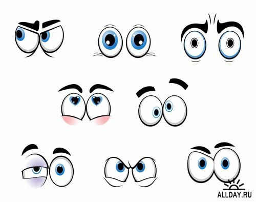 Emotions clipart eye. Free download clip art