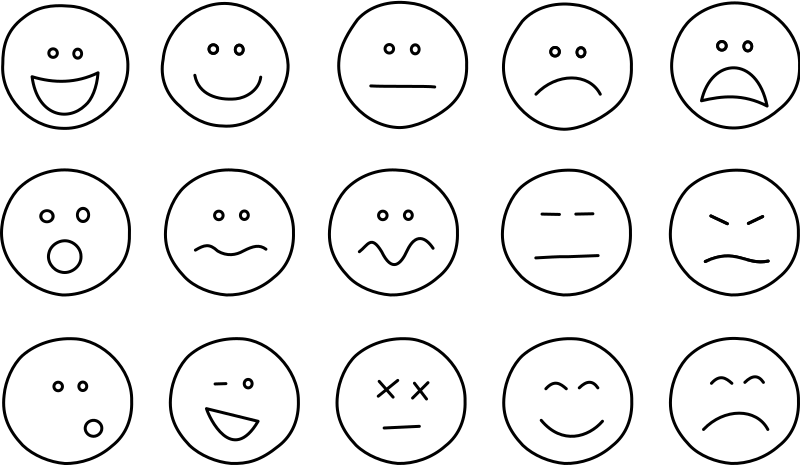 Emotions clipart face action. Emotional dysregulation and problem