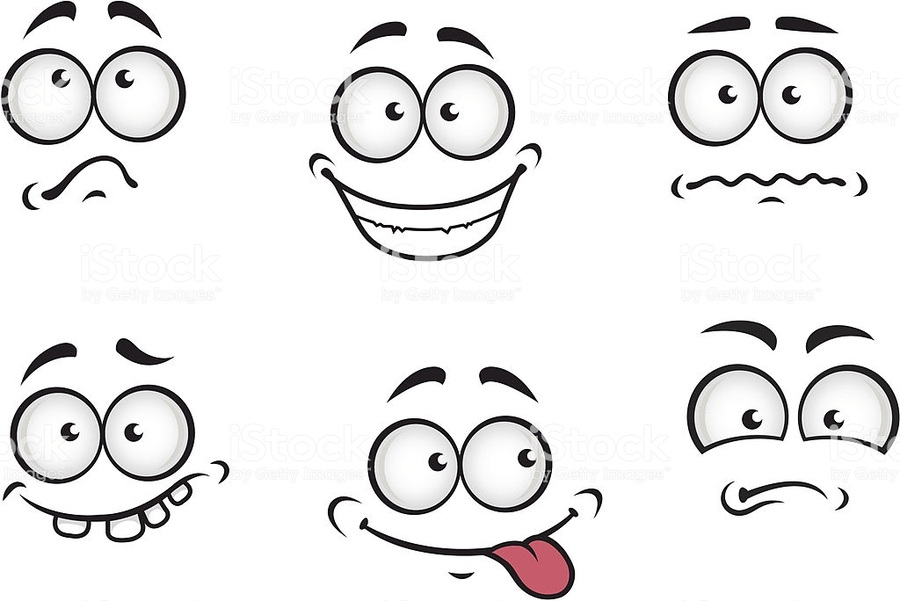 Emotions clipart face drawing. Download cartoon royalty free