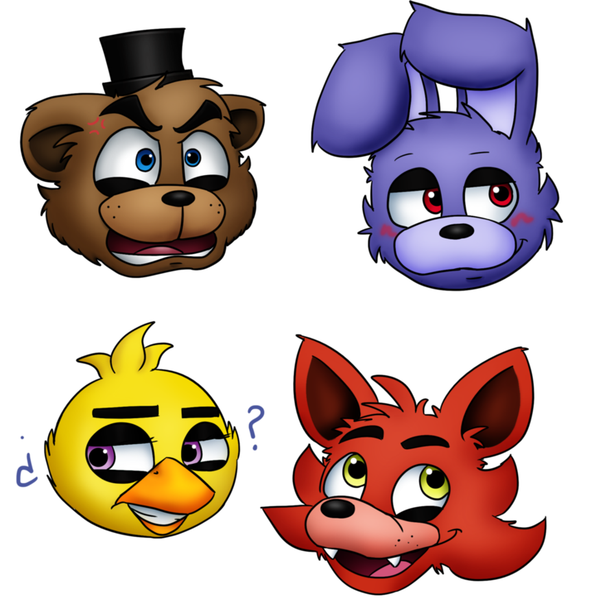 At freddy s by. Emotions clipart four basic