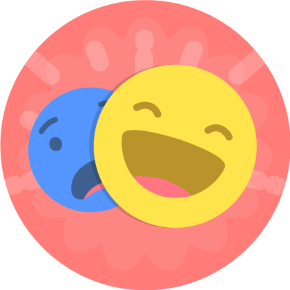Emotions clipart four basic. Feelings and in english