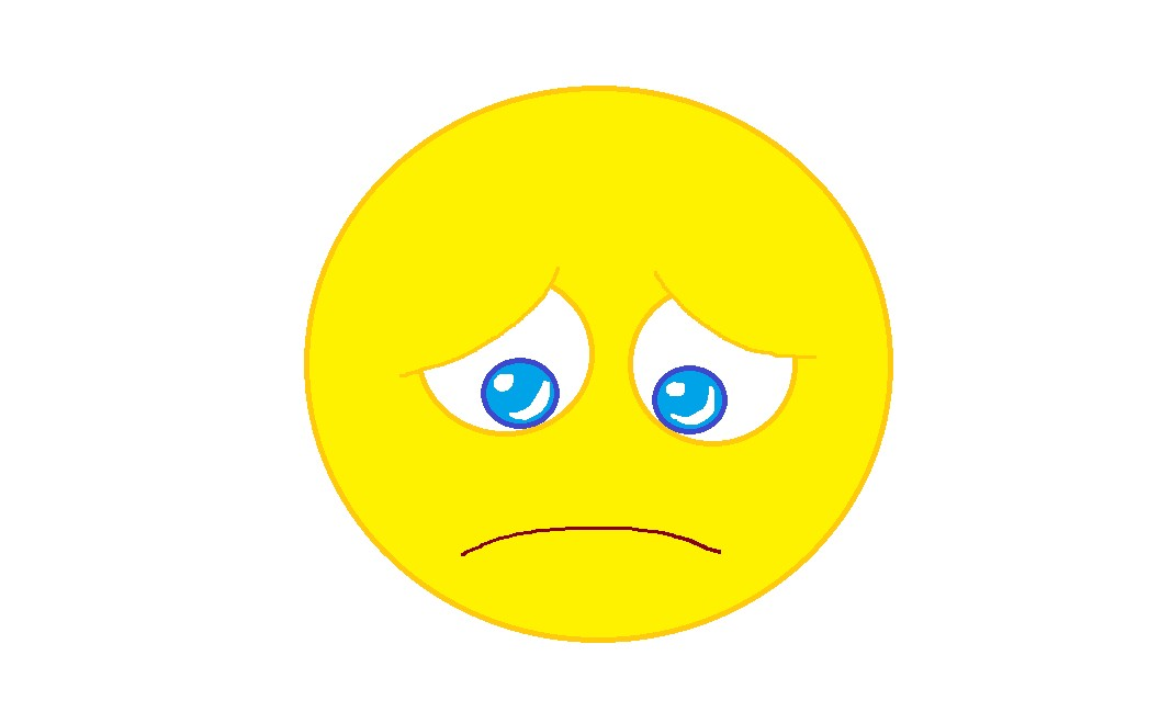 Sad free download clip. Emotions clipart gloomy
