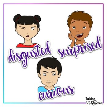 Set and shoulders . Emotions clipart head