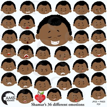 Emotions clipart head. Emoji multicultural emoticons african