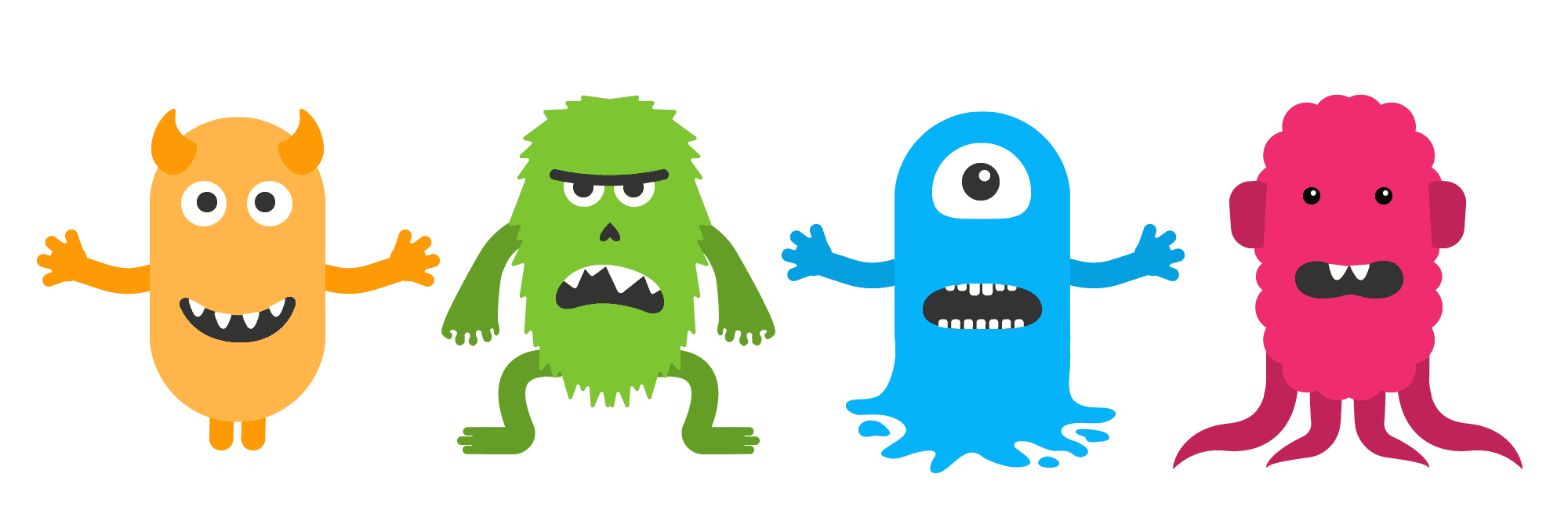 Emotions clipart kind emotion. Meet your emotional monsters
