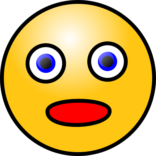 Free shocked cartoon download. Square clipart face
