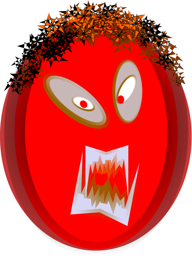 Emotions clipart mouth. Free angry images download