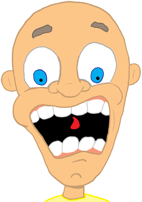 Worry clipart trepidation. Fright scared