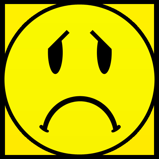 Crying smiley face clip. Emotions clipart sad smile